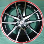 15 INCH ALLOY WHEEL(TD569-R) ONE SET
