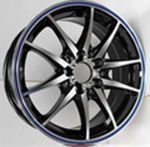 15 INCH ALLOY WHEEL(TD569-B) ONE SET