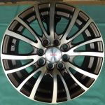 14 INCH ALLOY WHEEL (TD589-W14) ONE SET