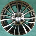 16 INCH ALLOY WHEEL (ONE SET) TD589-G16