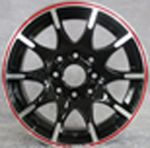 13 INCH ALLOY WHEEL (ONE SET) TD534